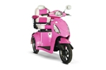 EW-36 Pink Electric Boutique Mobility Scooter