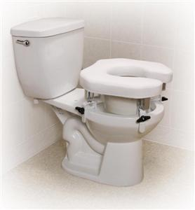 Enjoyable Drive Medical Padded Raised Toilet Seat With Four Locking Pdpeps Interior Chair Design Pdpepsorg