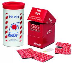 Hemocue 174 Hemoglobin Analyzer Meter System Strips